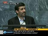 Выступление президента Исламской Республики Иран на Ген.Ассамблее ООН - Обращение Иранского народа к народам мира,часть 1